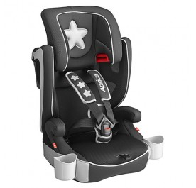 Air Groove Junior Car Seat Silver Star