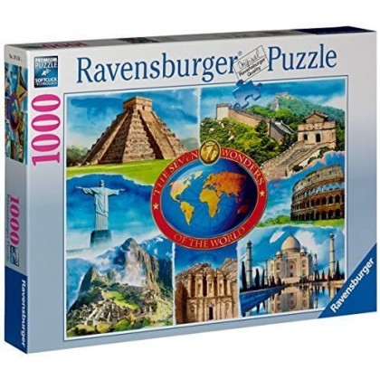 Ravensburger New 7 Wonders of World - 1000pcs