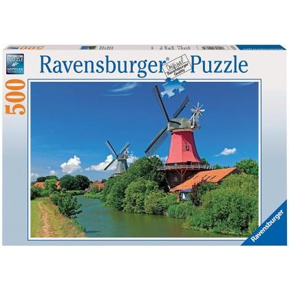 Ravensburger Romantic Windmills - 500pcs