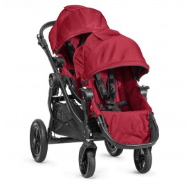 Baby Jogger City Select+ 2nd Seat Red (black frame)