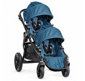 Baby Jogger City Select + 2nd Seat Teal (Black Frame)