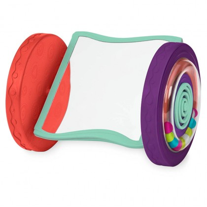 B Toys Rolling Mirror Crawling Toy