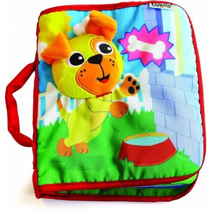 Lamaze 27912 Pee-A-Boo Puppy Cloth Book