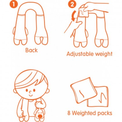 Ks Kids Training2 KT21001 Calming Shoulder Pad