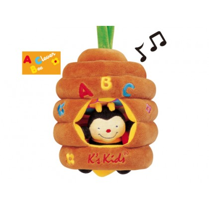 K's Kids 10323 Musical Pull Bee Hive