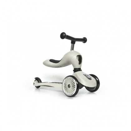 Scoot And Ride 96268 Highwaykick1 Scooter  for toddler 1-5 years - Ash
