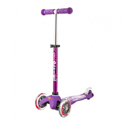 Micro Mini 3in1 Deluxe 012 3-Stage Ride-on for Ages 12 Months to 5 Years - Purple