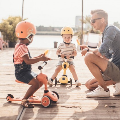 Scoot And Ride 96354 Highwaykick1 Scooter for toddler 1-5 years - Lemon