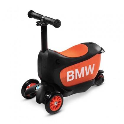 Micro 0291 BMW Mini2Go Kids Scooter for 3 to 5 years ~ Black/Orange
