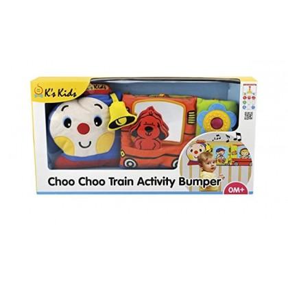 K's Kids 10663 Choo Choo Train Activity Bumper