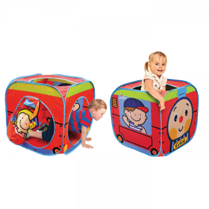 K's Kids 10659 Pop Up Train Station Crawling Tunnel for Kids age 3 +