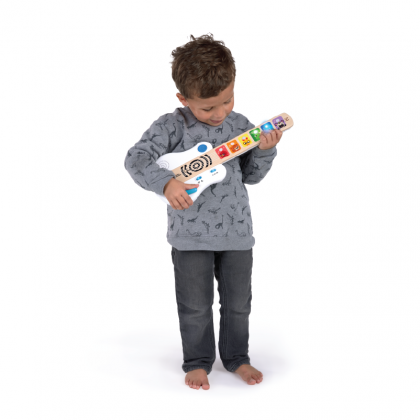 Baby Einstein's Hape 12396 Strum Along Songs Magic Touch Guitar for 12-36m