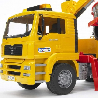Bruder 02535 MB Sprinter Transporter with Cross Country Vehicle and L&S Module