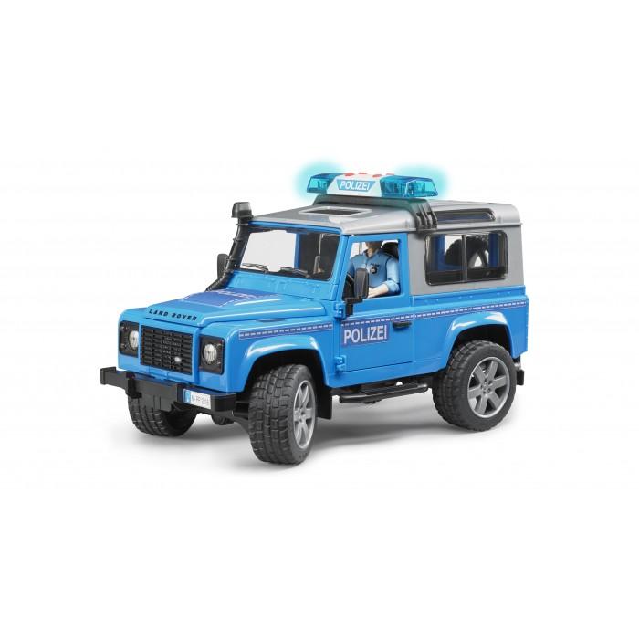 Land Rover Defender Police Vehicle & Policeman