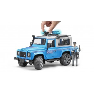 Land Rover Defender Police Vehicle & Policeman