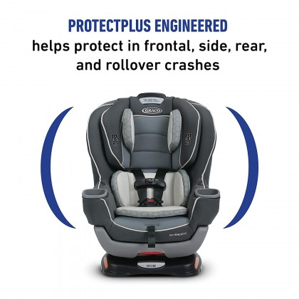 Graco Extend2Fit convertible car seat New Born up to 29kg - Davis (MFG 2020)