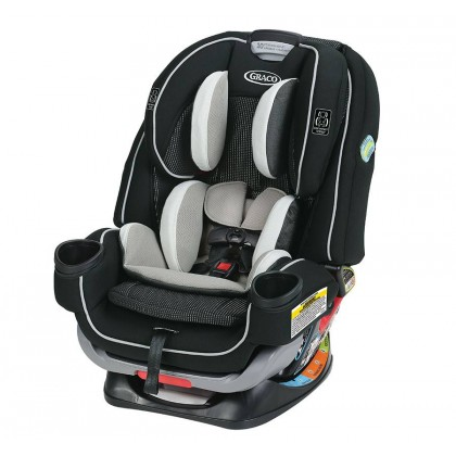 Graco 4ever Extend2fit Convertible All-in-One Car Seat for newborn to 54kg (Clove)
