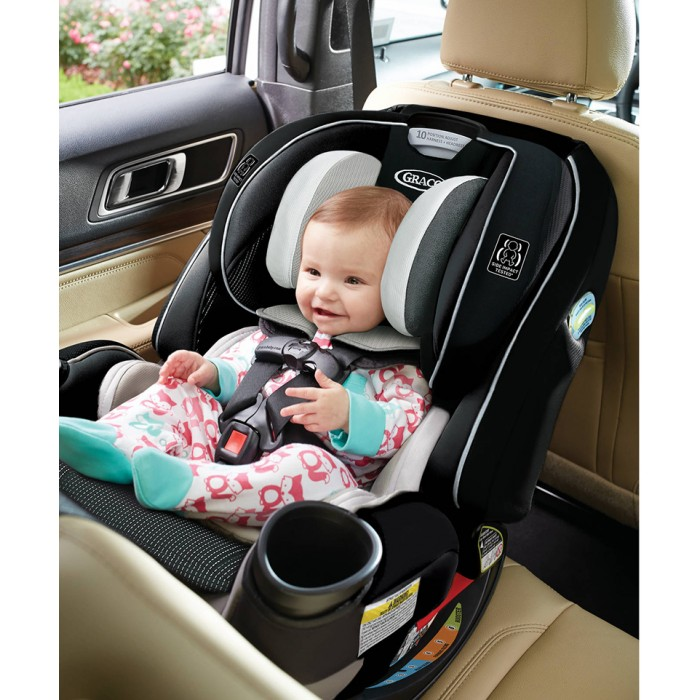 Graco 4ever Extend2fit All In One Car Seat Clove