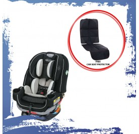 Graco 4ever Extend2fit All-in-One Car Seat Clove