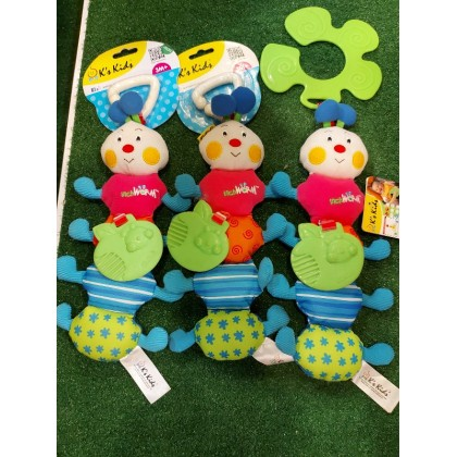KKids 10406 Funky Stroller Pals – Inchworm (CLEARANCE ITEM)