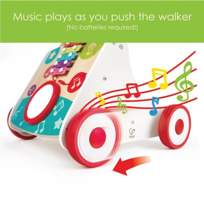 Hape 0383 My First Musical Walking suitable for 10m+