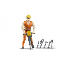 Construction Worker and Accessories