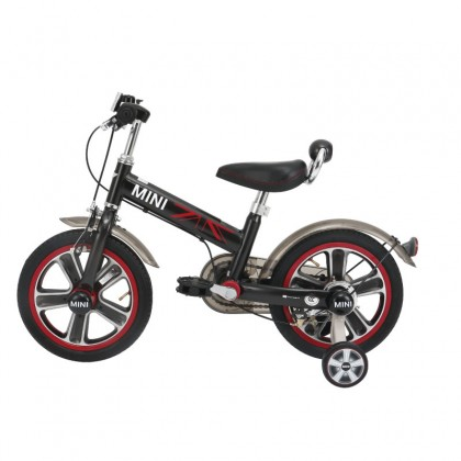 "Rastar 1402 Mini Copper Ride on Bicycle 14"" suitable for 4 up to 6years old, Black"