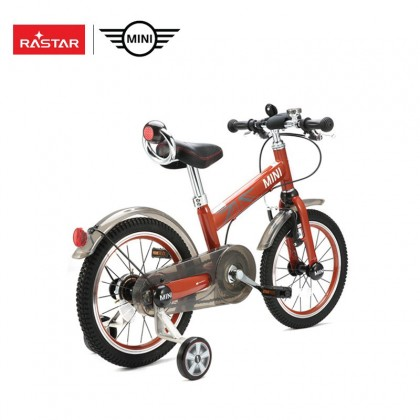 "Rastar 1602 Ride Cycle Mini Copper Children bicycle 16"" for kids age 4+~Orange"