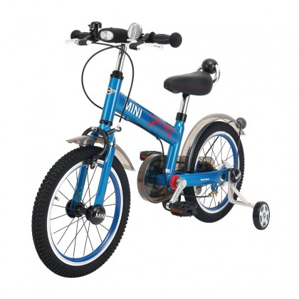 "Rastar 1602 Ride Cycle Mini Copper Children Bicycle 16"" Suitable for kids age 4+ ~ Blue"