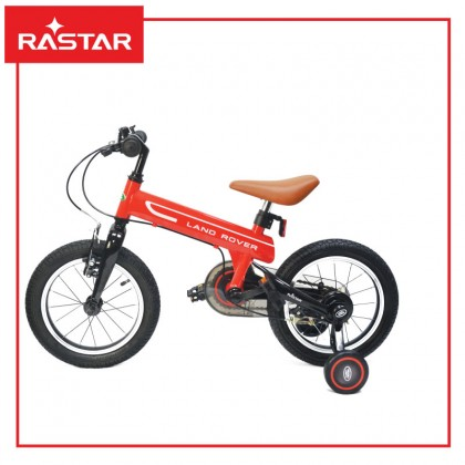 "Rastar 1406 Land Rover Discovery Kids Bike 14"" For 4-8years old ~ Red"