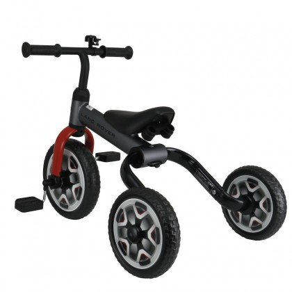 Rastar 3005 Land Rover 2 in 1 Balance Bike & Tricycle Foldable for 2-7years Old ~ Grey