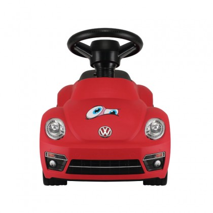 Rastar 85700 Volkswagen Beetle Foot to floor car with light & sound for 18 to 36 months ~ Red