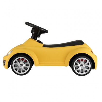 Rastar 85700 Volkswagen Beetle Foot to floor car with light & sound for18 to 36 months ~ Yellow
