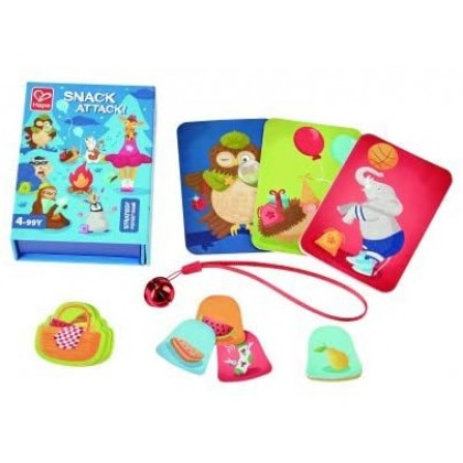 Hape 4811 Snack Attack! Strategy Pocket Game