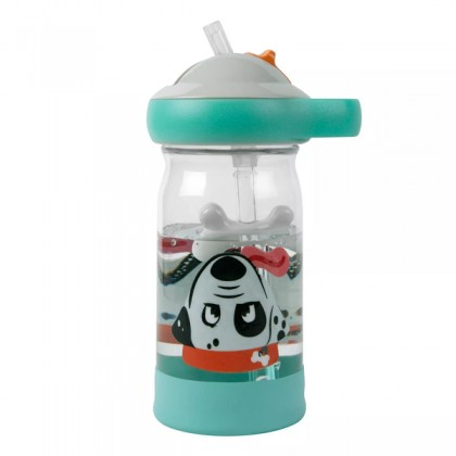 The First Years Sip & See Water Bottle For Kid 1 year+, Dog