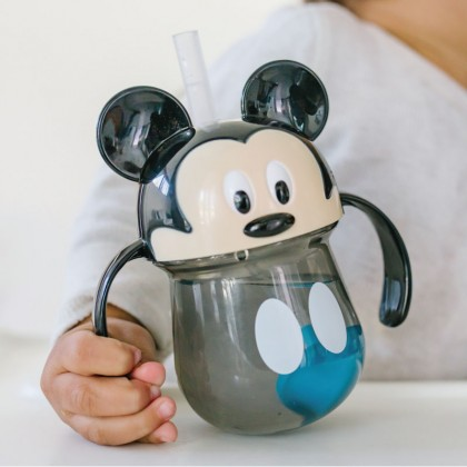 The First Year 11451 Mickey  Weighted Straw Trainer Cup 7 Oz - 1 Pack