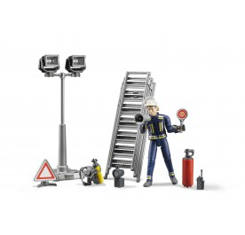 Fire Brigade Figure Set