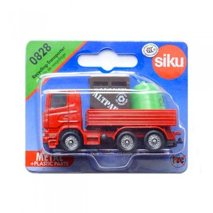 Siku Recycling Transporter Die Cast in Blister Pack