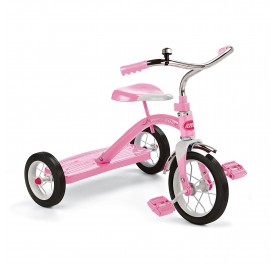 "Classic Pink 10"" Tricycle"