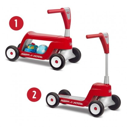 Radio Flyer RF615 Scoot to Scooter