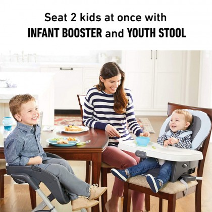 Graco Duodiner DLX 6in1 Highchair for baby 6 month+  - Mathis Fashion
