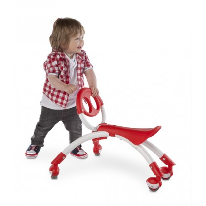 Y Pewi for walking/riding age 1to 3 years~  White/Red