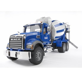 Bruder MACK Granite Cement Mixer Truck
