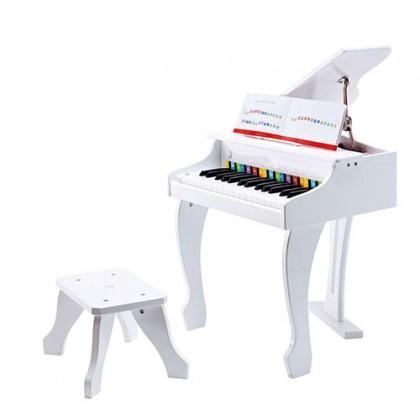 Hape Deluxe Grand Piano - White