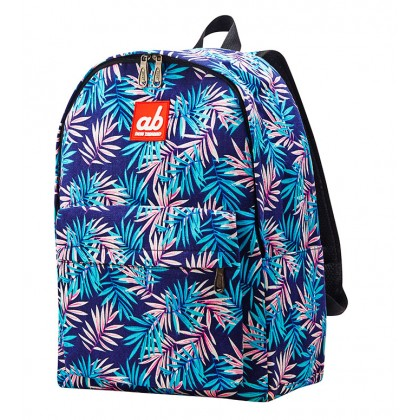 AB Tropical Palm Kid Canvas Backpack