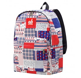 AB Britain Retro Kid Canvas Backpack
