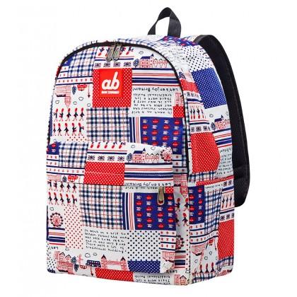 AB Britain Retro Kid Canvas Backpack
