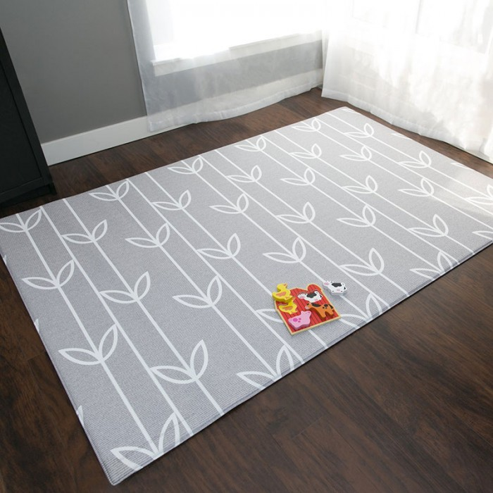 Baby care playmat sea petal grey large for Baby care play mat letters numbers grey large