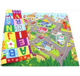 Baby Care Playmat Zoo Town Medium
