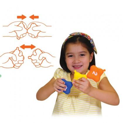 K's Kids KT21024 Training2s Pop Lock Stacking Squares